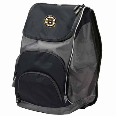 Boston Bruins Action Backpack (Color: Black)
