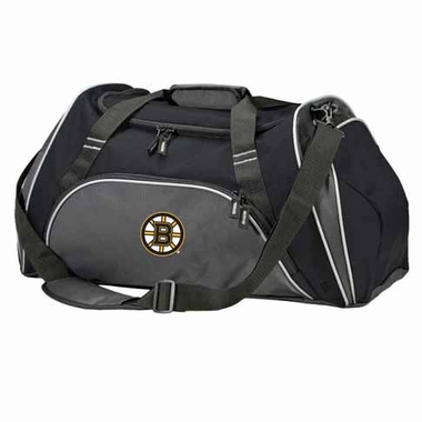 Boston Bruins Action Duffle (Color: Black)