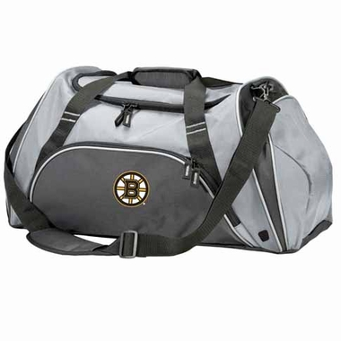 Boston Bruins Action Duffle (Color: Grey)