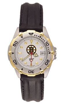 Boston Bruins All Star Womens (Leather Band) Watch