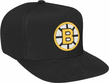 Boston Bruins Basic Logo Snap Back Hat
