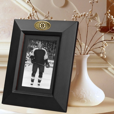 Boston Bruins BLACK Portrait Picture Frame