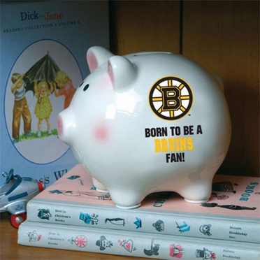 Boston Bruins (Born to Be) Piggy Bank