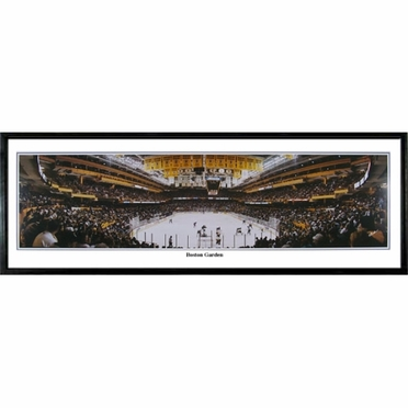 Boston Bruins Boston Garden Framed Panoramic Print