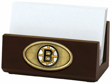 Boston Bruins Business Card Holder