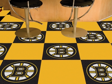 Boston Bruins Carpet Tiles