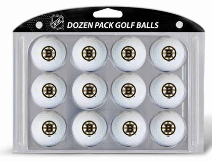 Boston Bruins Dozen Golf Balls