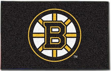 Boston Bruins Economy 5 Foot x 8 Foot Mat