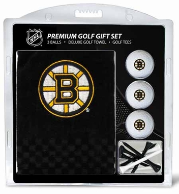 Boston Bruins Embroidered Towel Gift Set