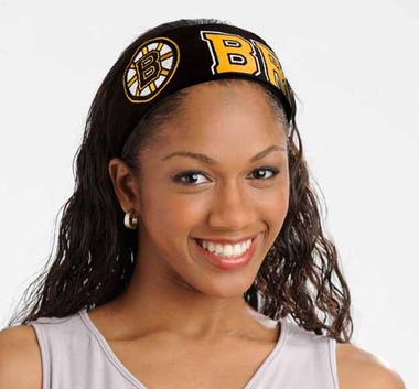 Boston Bruins FanBand Hair Band