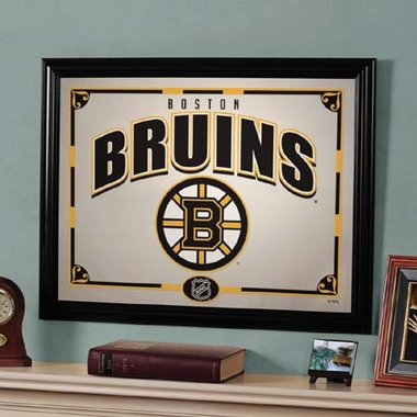 Boston Bruins Framed Mirror
