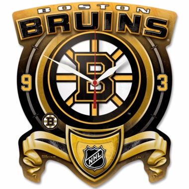 Boston Bruins High Definition Wall Clock