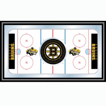 Boston Bruins Hockey Bar Mirror