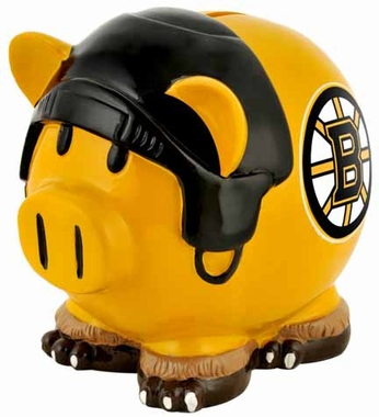 Boston Bruins Large Thematic Piggy Bank