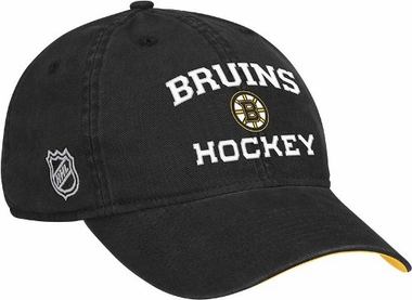 Boston Bruins Locker Room Team Slouch Adjustable Hat