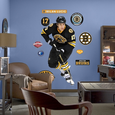 Boston Bruins Milan Lucic Fathead Wall Graphic