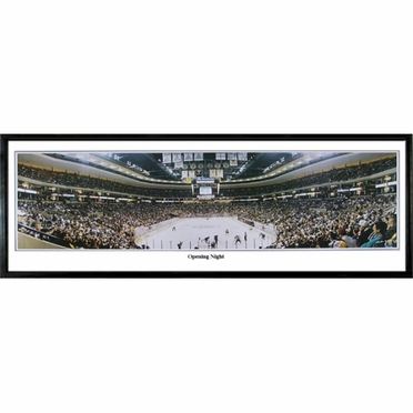 Boston Bruins Opening Night Framed Panoramic Print