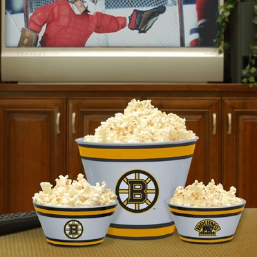 Boston Bruins Plastic Serving Set