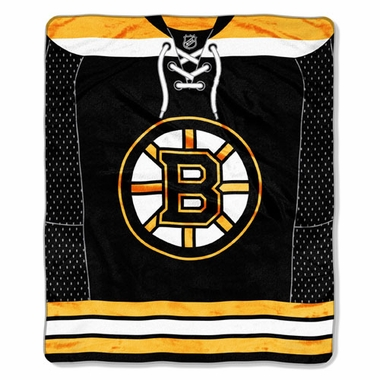 Boston Bruins Plush Blanket