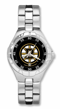 Boston Bruins Pro II Women's Stainless Steel Watch
