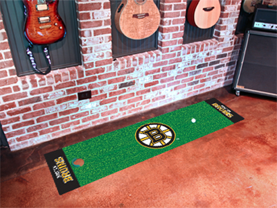Boston Bruins Putting Green Mat