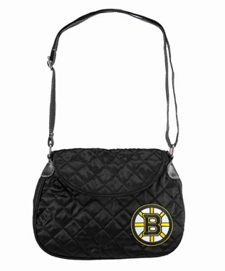 Boston Bruins Quilted Saddlebag