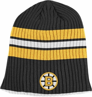 Boston Bruins Retro Reversible Cuffless Knit Hat