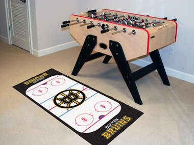 Boston Bruins Rink Runner Rug