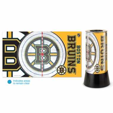 Boston Bruins Rotating Lamp