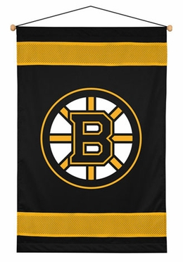 Boston Bruins SIDELINES Jersey Material Wallhanging