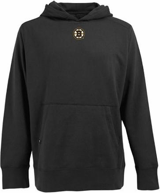 Boston Bruins Mens Signature Hooded Sweatshirt (Team Color: Black)