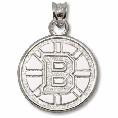 Boston Bruins Sterling Silver Pendant