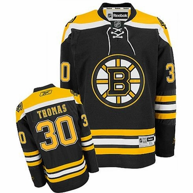 Boston Bruins Tim Thomas Reebok Team Color Premier Jersey