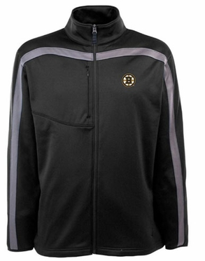 Boston Bruins Mens Viper Full Zip Performance Jacket (Team Color: Black)