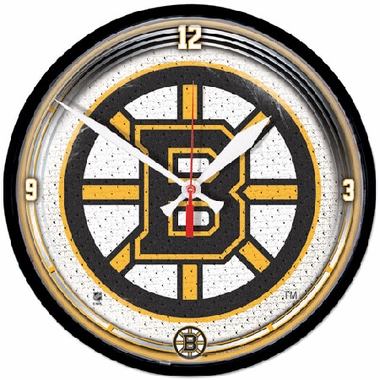 Boston Bruins Wall Clock