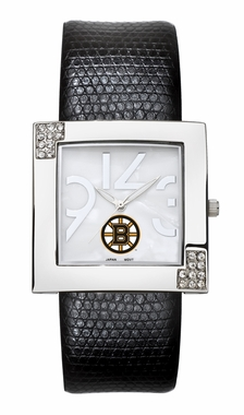 Boston Bruins Women's Glamour Watch