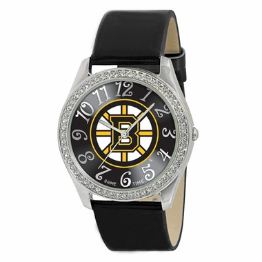 Boston Bruins Women's Glitz Watch