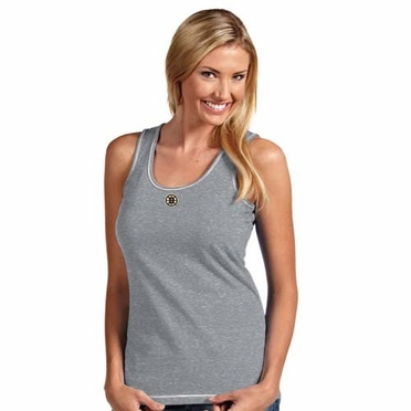Boston Bruins Womens Sport Tank Top (Color: Gray)