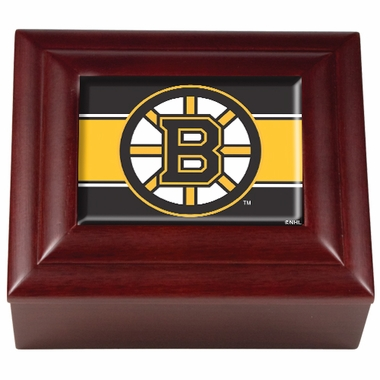 Boston Bruins Wooden Keepsake Box