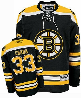 Boston Bruins Zdeno Chara Reebok Team Color Premier Jersey