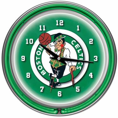 Boston Celtics 14 Inch Neon Clock