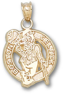 Boston Celtics 14K Gold Pendant