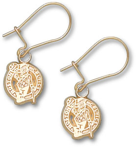 Boston Celtics 14K Gold Post or Dangle Earrings