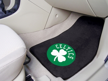 Boston Celtics 2 Piece Car Mats