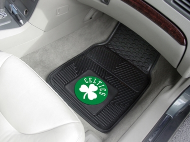 Boston Celtics 2 Piece Heavy Duty Vinyl Car Mats