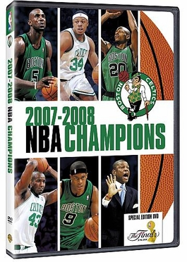 Boston Celtics 2008 NBA Champions DVD
