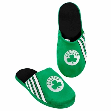 Boston Celtics 2012 Team Stripe Logo Slippers