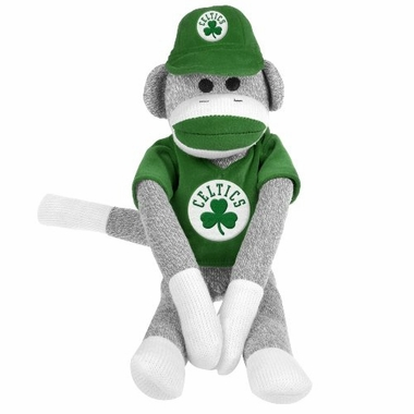 Boston Celtics 2013 NBA 27'' Uniform Sock Monkey
