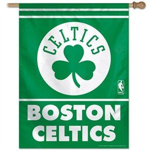 "Boston Celtics 27"" x 37"" Banner"