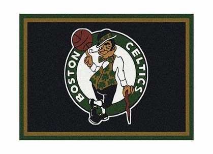 "Boston Celtics 3'10"" x 5'4"" Premium Spirit Rug"